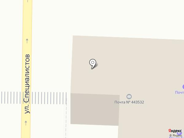Почтовое отделение на карте Верхней Подстепновки