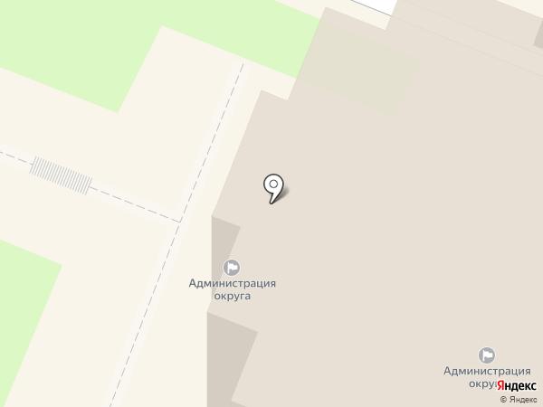 Администрация городского округа Самара на карте Самары