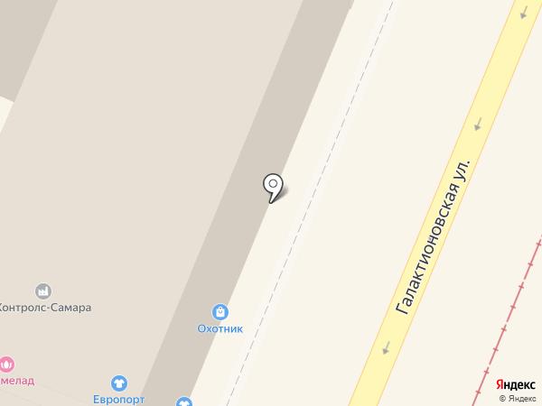 Мегапир на карте Самары