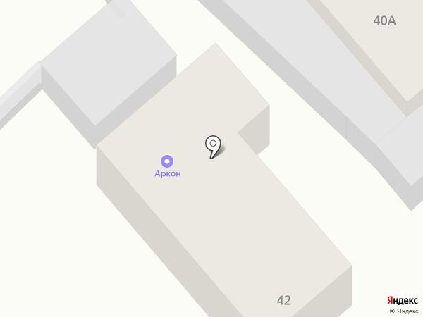 Аркон на карте Самары