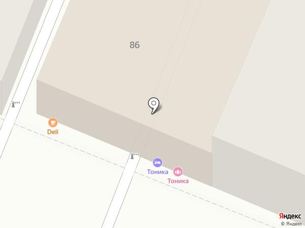 Столовая на карте Самары