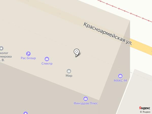 РОСБК на карте Самары