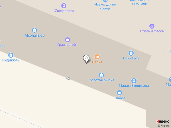 Макрос на карте Самары