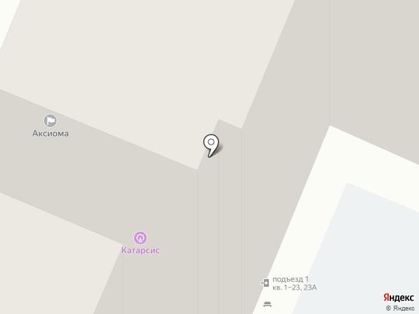 Созвездие на карте Самары