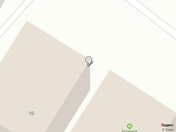 Бережок на карте Волжского