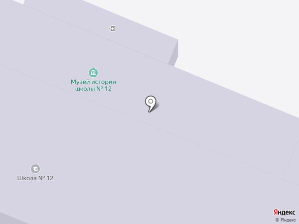 СДЮСШОР №12 по настольному теннису на карте Самары