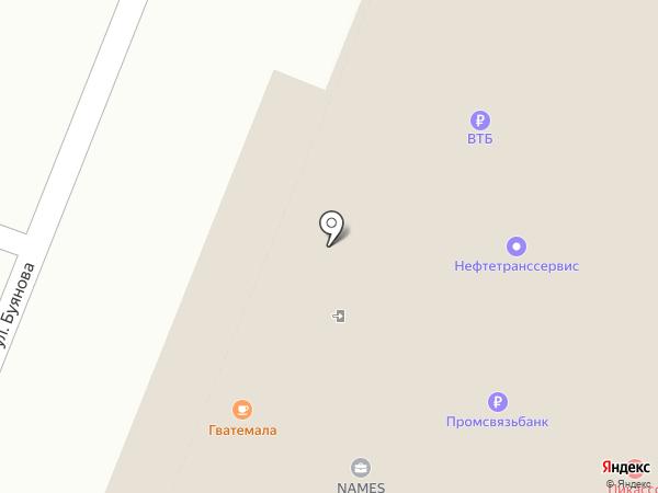 Стандарт Групп на карте Самары