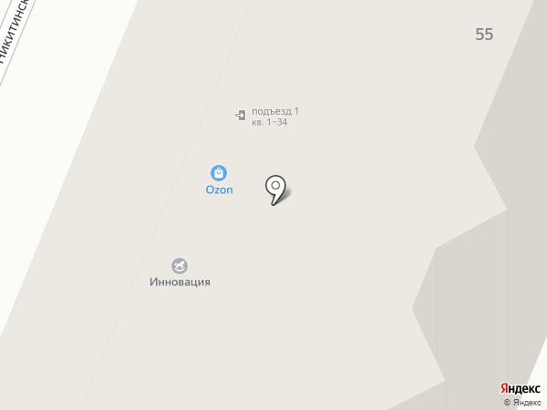 Ассоциация на карте Самары