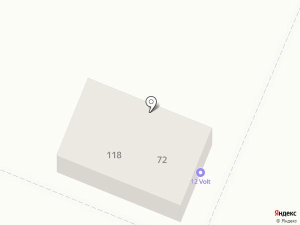 12 Volt на карте Самары