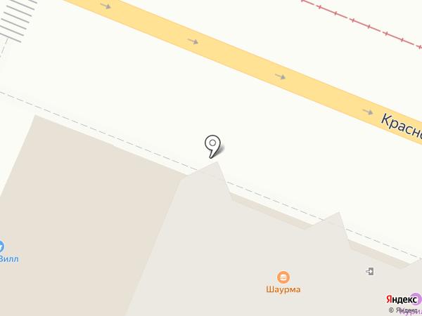 Лак на карте Самары