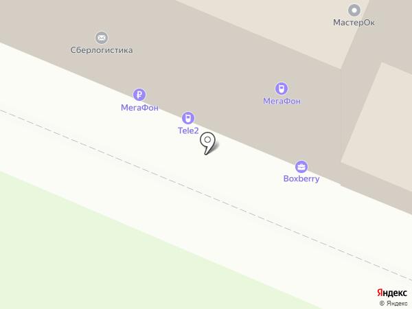 Чугунная лавка на карте Самары