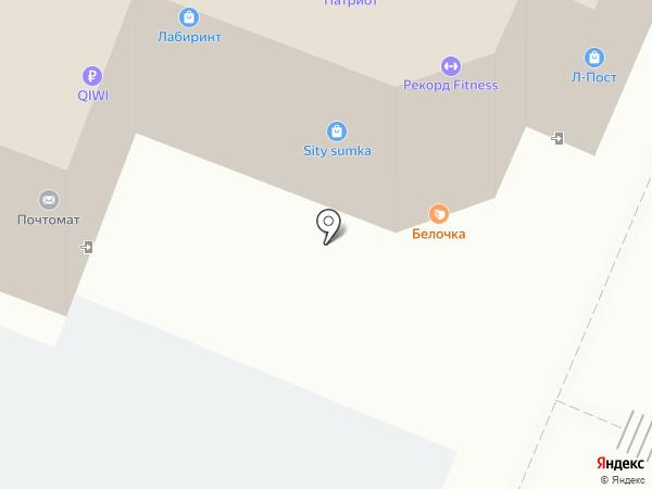 Магазин нижнего белья на карте Самары
