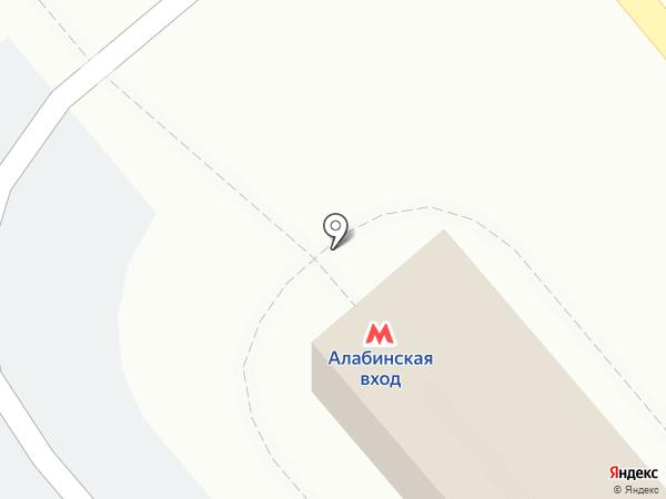 Транспортная карта на карте Самары