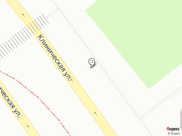 Киоск по продаже фруктов и овощей на карте Самары