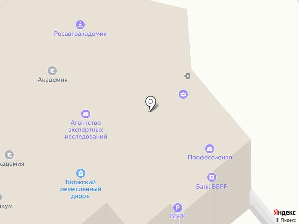 Патентный поверенный Васильева Е.В. на карте Самары