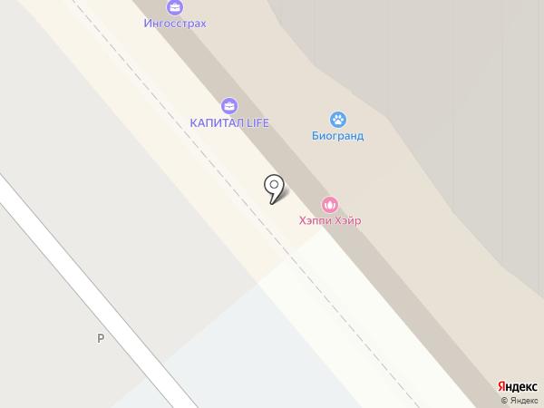 Биогранд на карте Самары