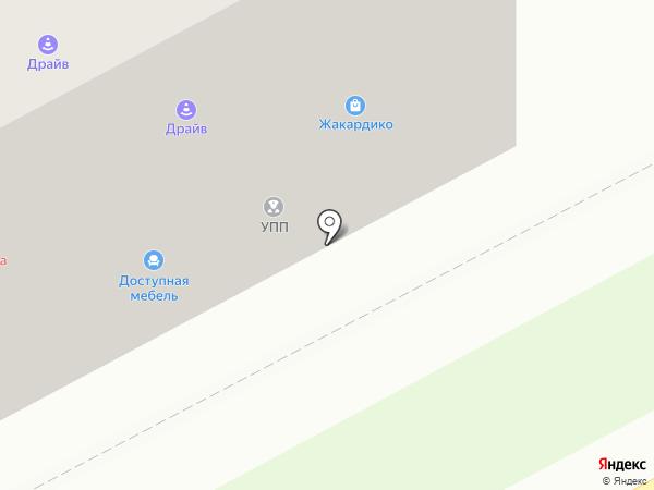 Магазин доступной мебели на карте Придорожного