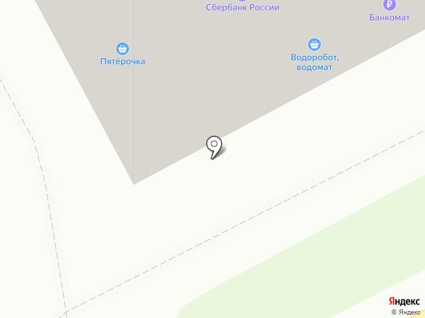Пятерочка на карте Придорожного