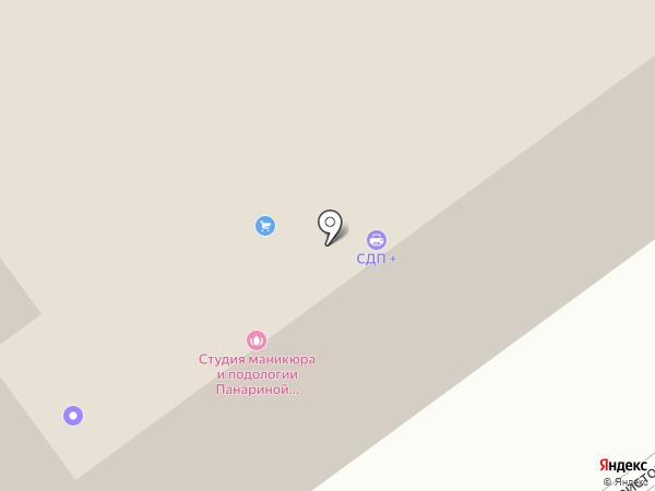 Группа Интеграл-Поволжье на карте Самары