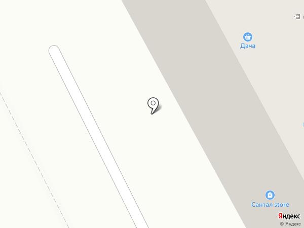 Кунжут на карте Придорожного