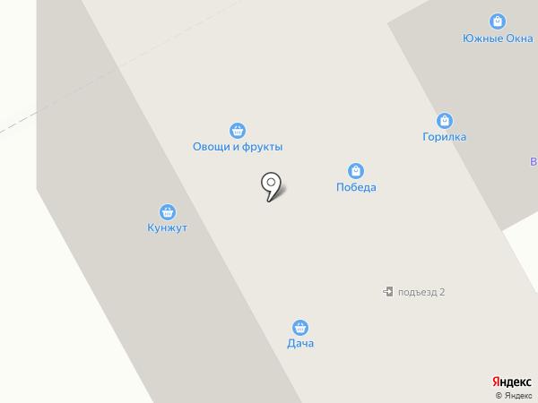 Краюха на карте Придорожного