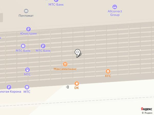 Платежный терминал, Татфондбанк, ПАО на карте Самары