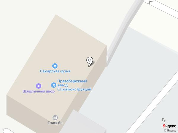 Альянс-Поволжья на карте Самары
