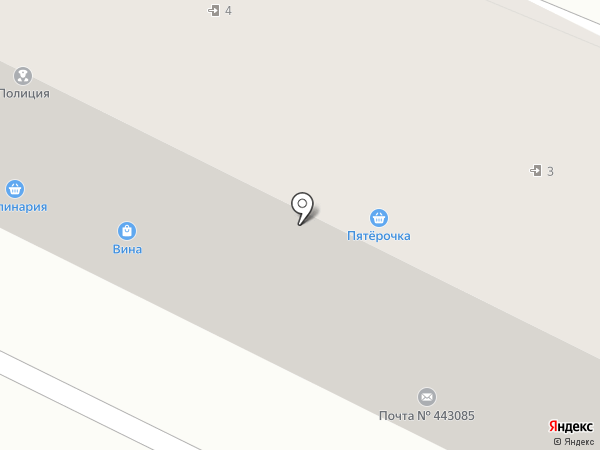 Киберплат на карте Самары