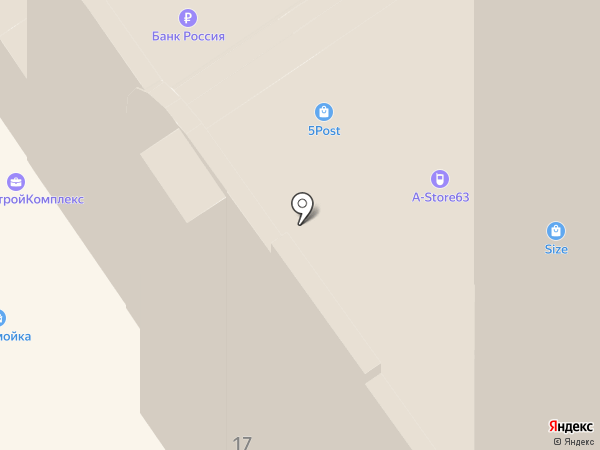 SILA на карте Самары