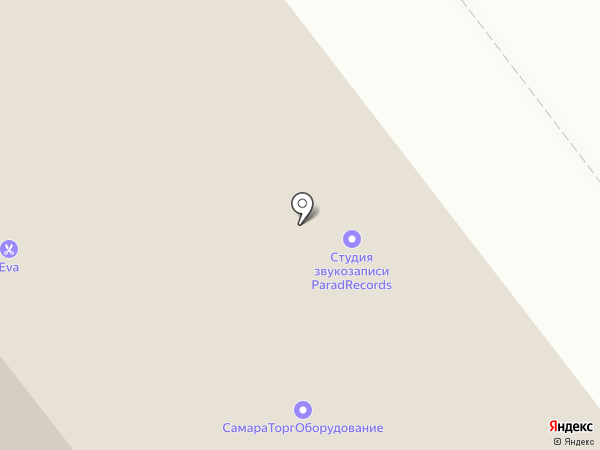 ParadRecords на карте Самары