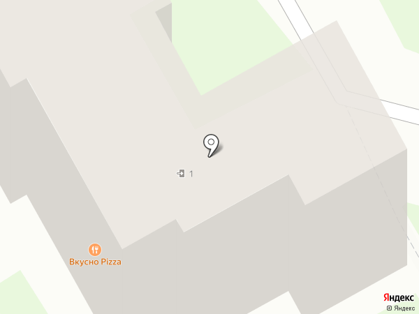 Магазин канцелярских товаров на карте Придорожного