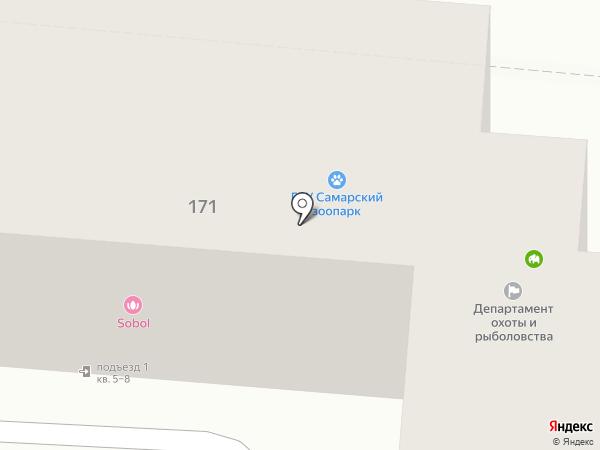 Лиарт на карте Самары