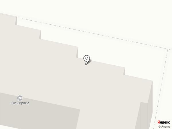 ЮГ Сервис на карте Придорожного