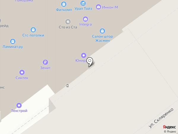 ПромПолимерСервис на карте Самары