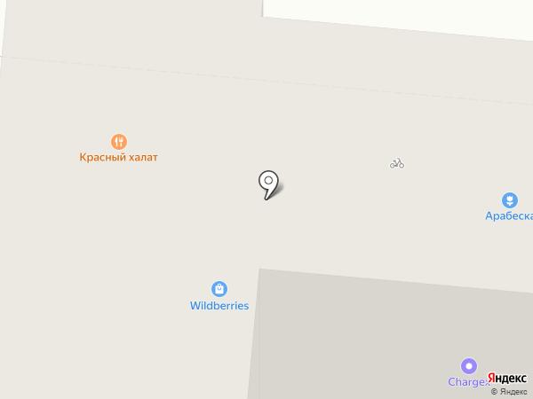 Арабеска на карте Самары