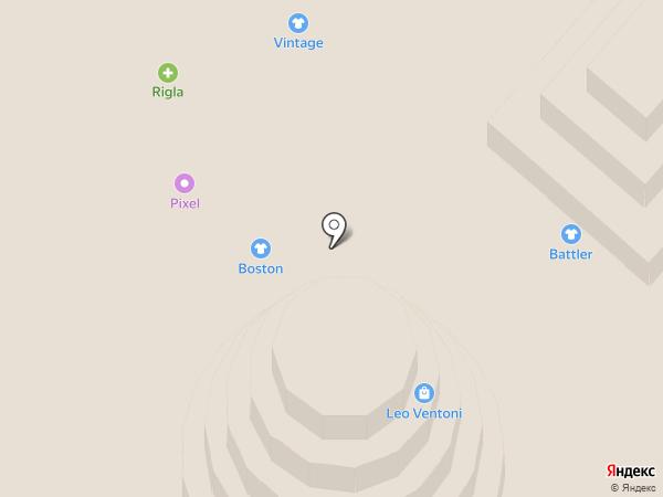 Ригла на карте Самары