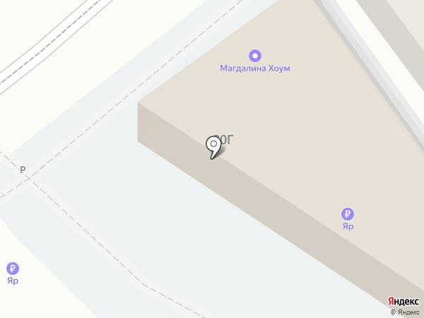 Магдалина Хоум на карте Самары