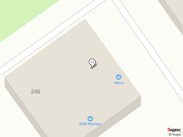 АЛК-моторс на карте Самары