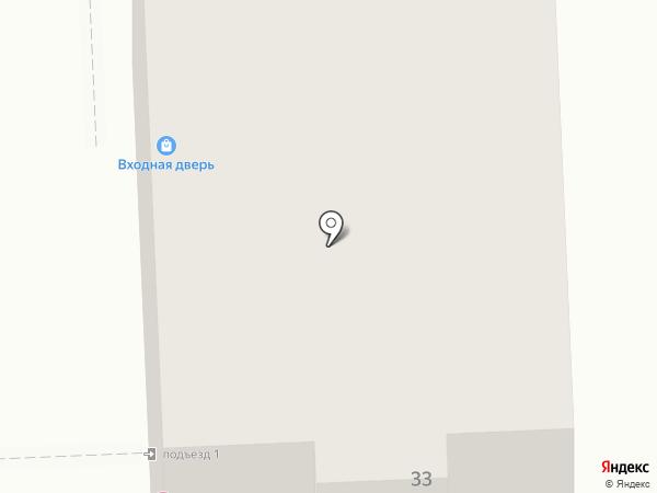Метрика на карте Самары