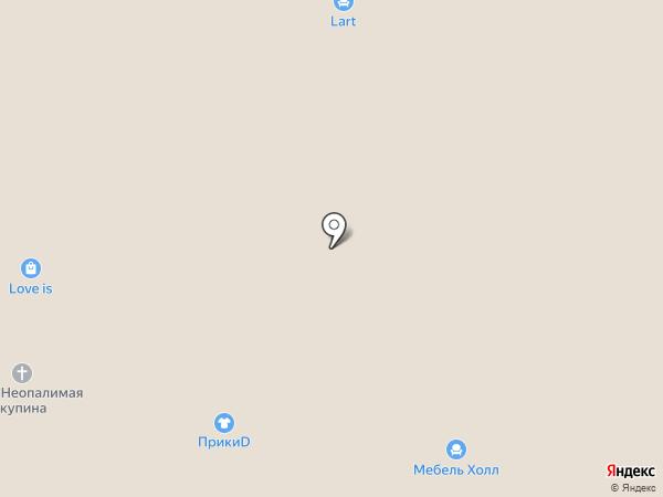 Мебель Холл на карте Самары