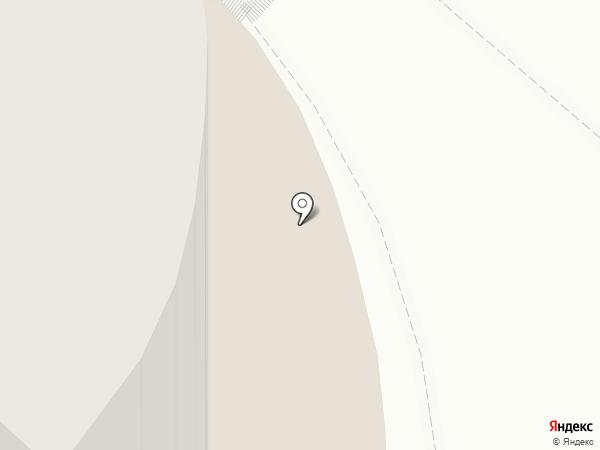 Акварель на карте Самары