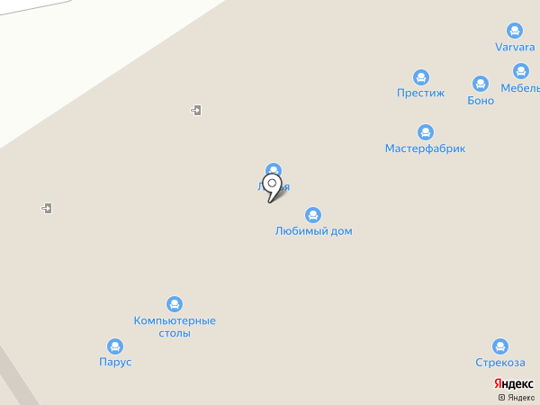 Любимый дом на карте Самары