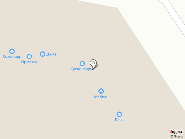 Кураж на карте Самары