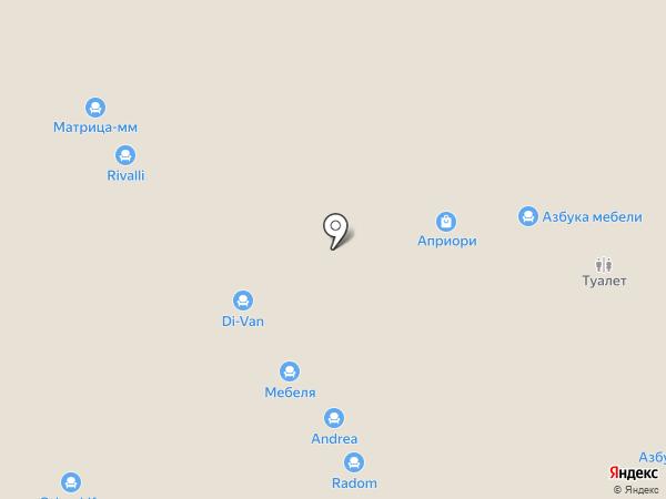 8 МАРТА на карте Самары