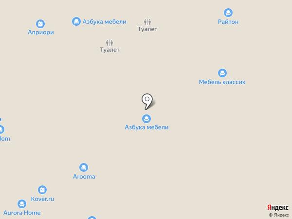 Заря на карте Самары