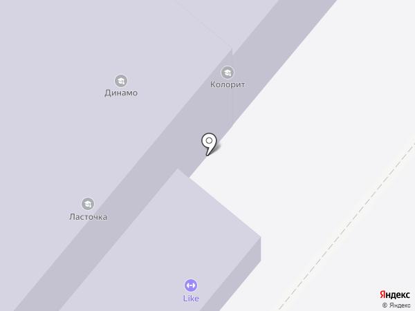 Колорит на карте Самары