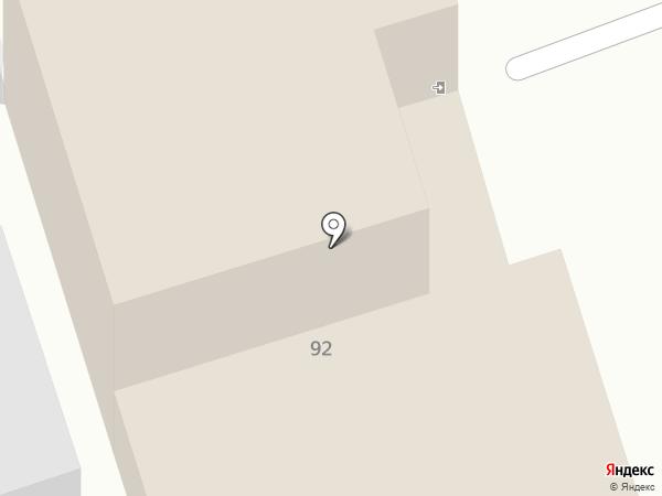 Картина на карте Самары