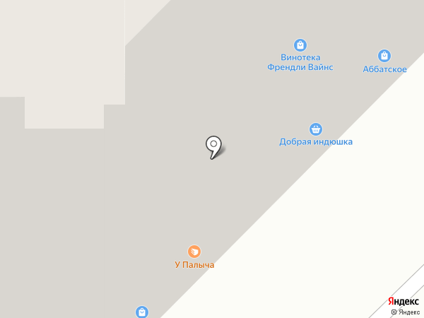 Изумрудный на карте Самары