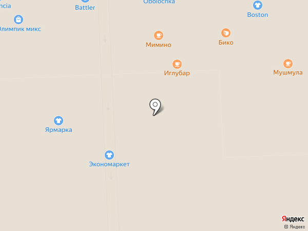 Актуаль-М на карте Самары