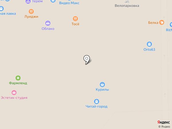 Мигфото на карте Самары